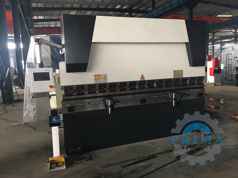 Sheet metal bending machine and plate shearing machines