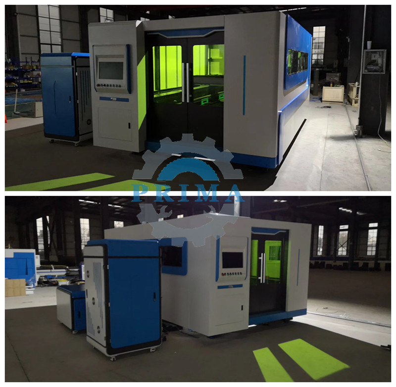 2kw exchangeable table cnc laser cutting machine and cnc