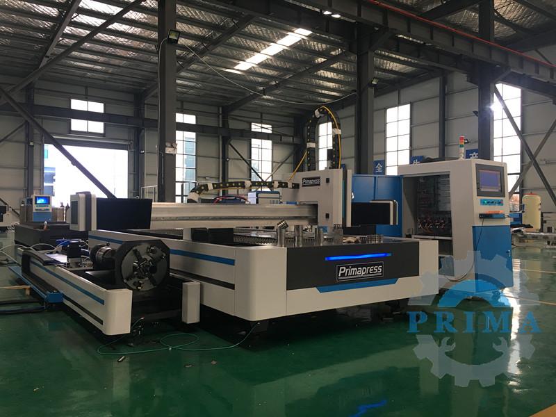 2in1 Sheet And Pipe Fiber Laser Cutting Machine