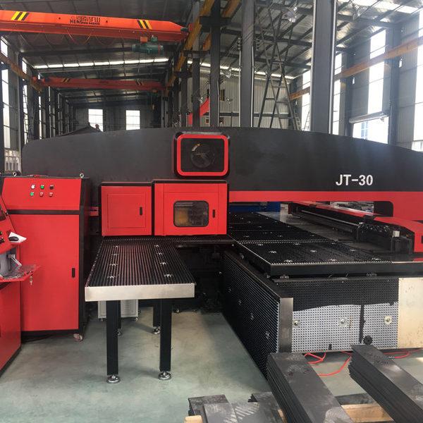 T30 CNC Turret Punching Machine Automatic Hole Punching machine